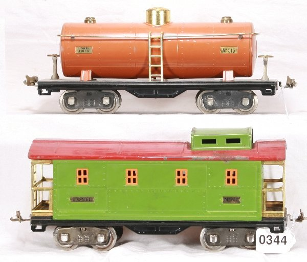 344: NETTE - LIONEL 515 & 517 Freight Cars: