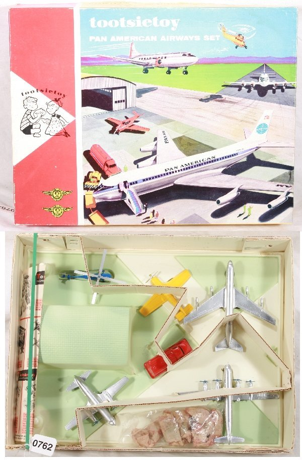 762: NETTE - Super Boxed TOOTSIETOY Pan American Airway