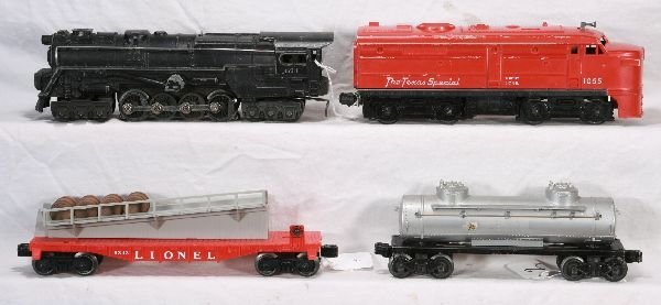 2: NETTE - 4 Pc. LIONEL Lot: