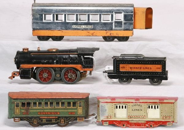 5: NETTE - 5 Pc. LIONEL/ WINNER Lot: