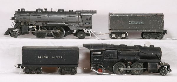 13: NETTE - LIONEL 1664E & 258 Steam Locos: