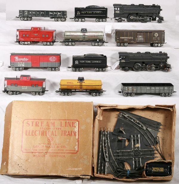 16: NETTE - 2 Boxed MARX Scale Sets: