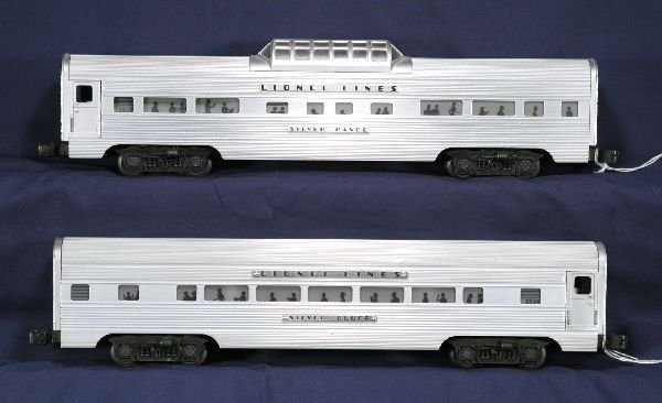 19: NETTE - 2 LIONEL Super Speedliner Cars: