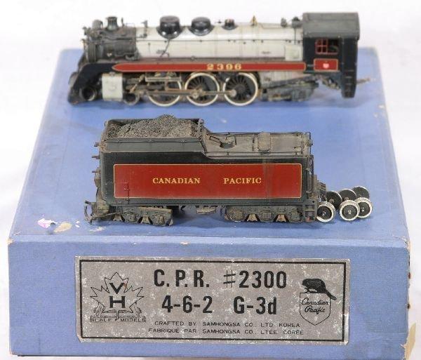 335: NETTE - SAM HO Brass CPR G-3d Steamer: