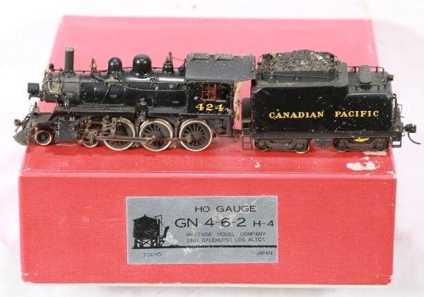 336: NETTE - SAM HO Brass CPR H-4 Steam Loco: