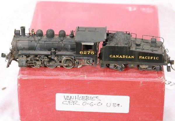 337: NETTE - SAM HO Brass CPR U-3a Steamer: