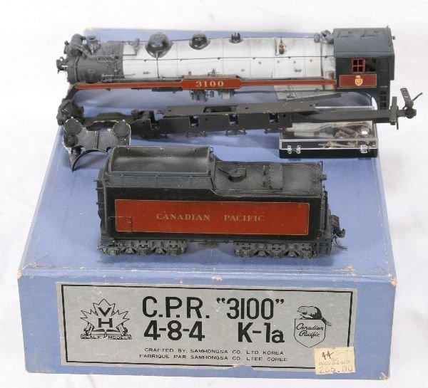 340: NETTE - Partial SAM CPR K-1a Steam Loco: