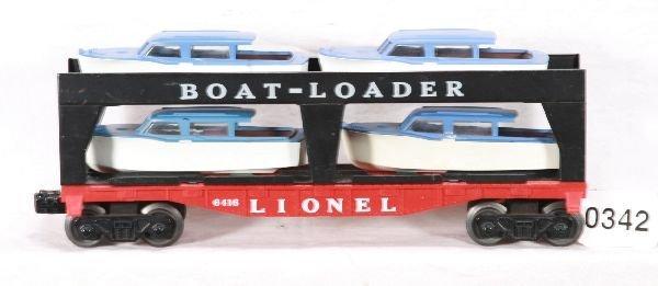 342: NETTE - Nice LIONEL 6416 Boat Loader:
