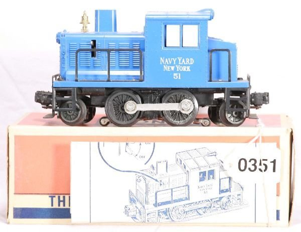 351: NETTE - Boxed LIONEL 51 Navy Diesel: