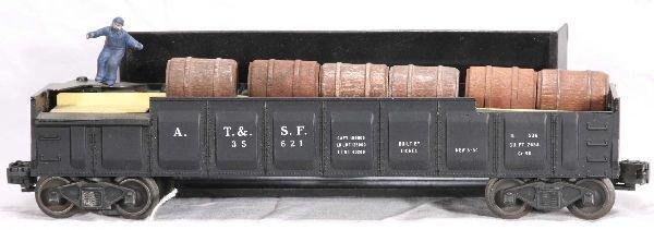 354: NETTE - LIONEL Black 3562-1 Barrel Car: