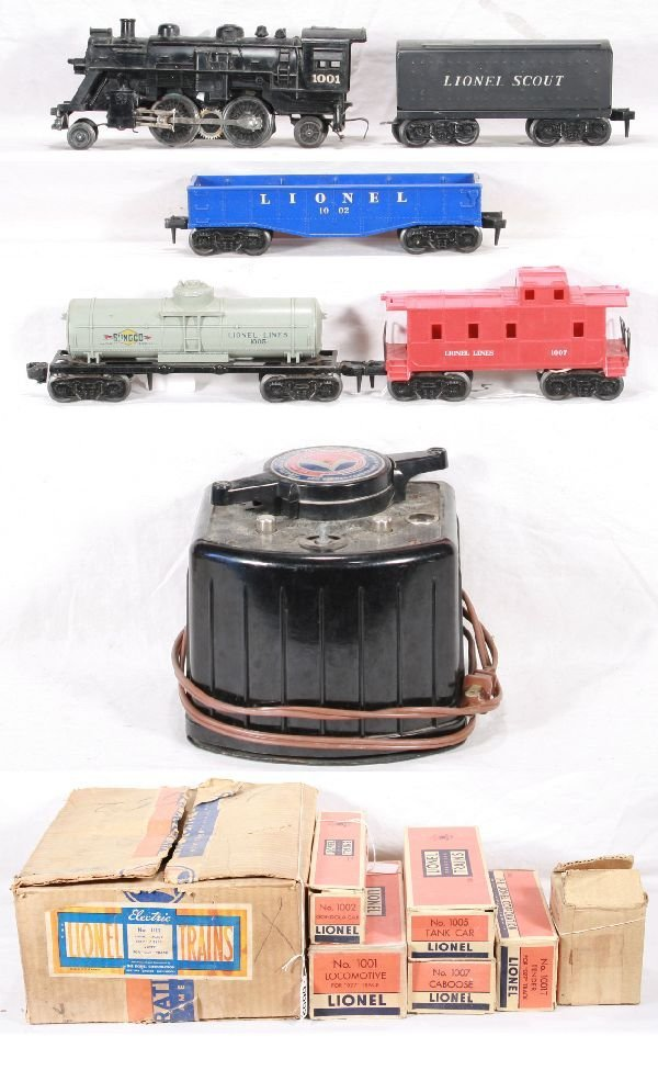 2: NETTE - Boxed LIONEL Set 1111 with KW Transf: