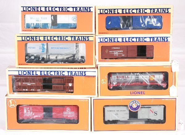 3: NETTE - 8 LTI Freight Cars:
