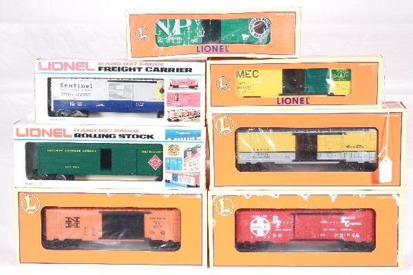4: NETTE - 5 Pc. LTI/ MPC Freight Car Lot: