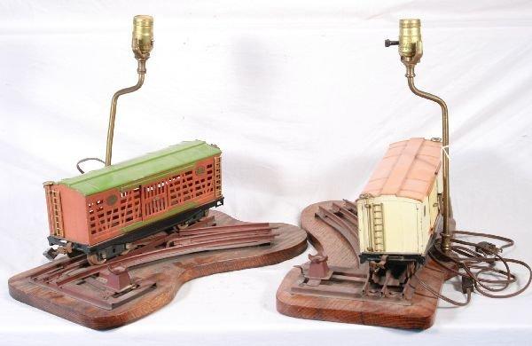 22: NETTE - LIONEL 213 & 214 ST Ga. Freight Car…Lamps: