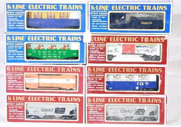 23: NETTE - 8 K-LINE Freight Cars: