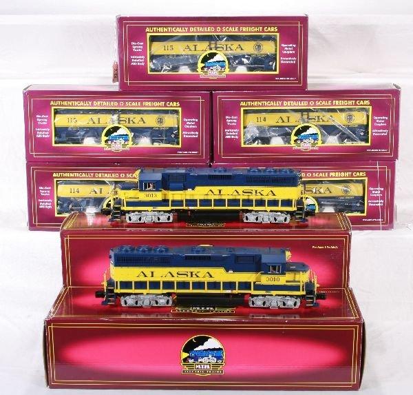 226: NETTE - 7 Pc. MTH Alaska Freight Set: