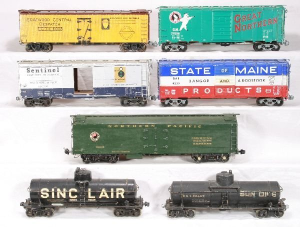 327: NETTE - 5 Custom O Scale Freight Cars: