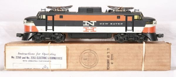 332: NETTE - Boxed LIONEL 2350 NH EP-5 Electric: