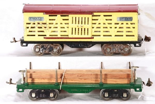 348: NETTE - LIONEL 513 & 511 Late Freight Cars: