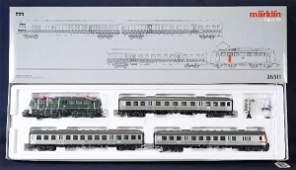 724 NETTE  MARKLIN HO 26511 DB Commuter Set