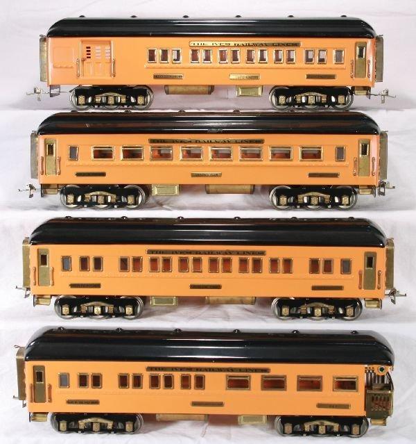 119: NETTE - 4 RICHART Ives Olympian Passenger Cars: