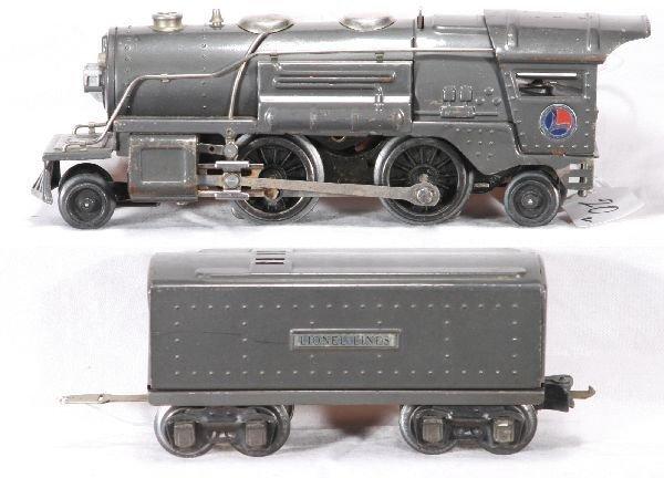 133: NETTE - Clean LIONEL Pre O 259E Steam Loco: