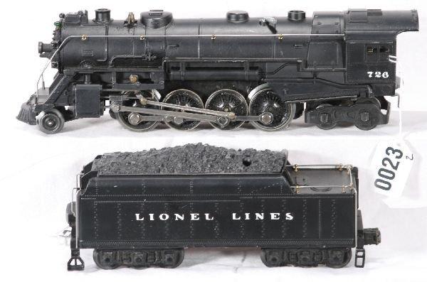 136: NETTE - Restored LIONEL 1946 726 Berkshire: