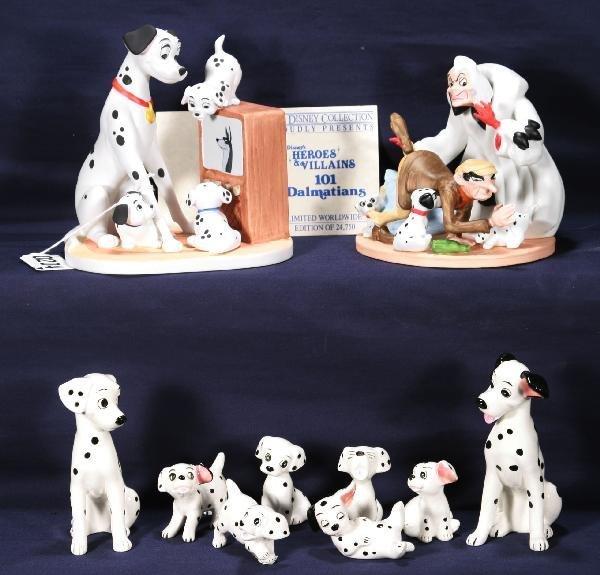 204: NETTE - DISNEY 101 Dalmatians Figurines: