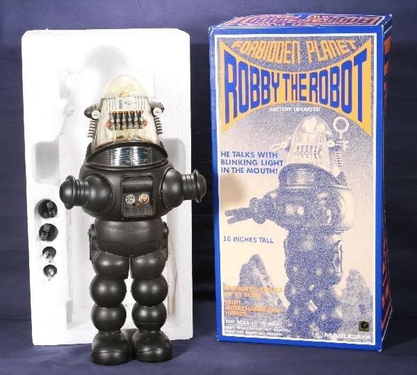 206: NETTE - MODERN TOY Robbie The Robot: