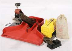558: NETTE - Scarce LIONEL Yellow 397 Coal Loader:
