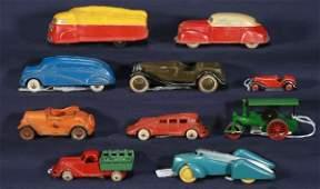 862: NETTE - 10 Pc. Mixed Vehicle Lot: