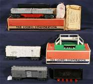 250: NETTE - 3 LIONEL Operating Cars: