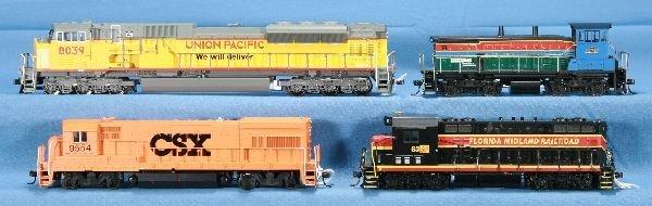 1: 4 HO Ga. Diesel Locomotives: