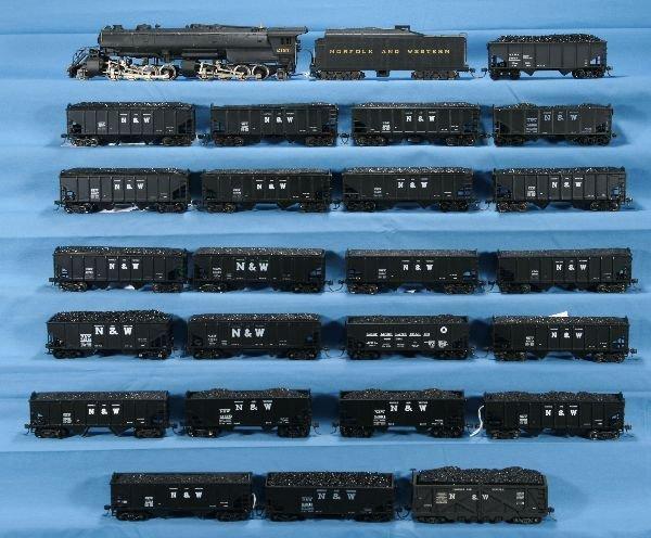 3: 26 Pc. N&W HO Ga. Coal Train: