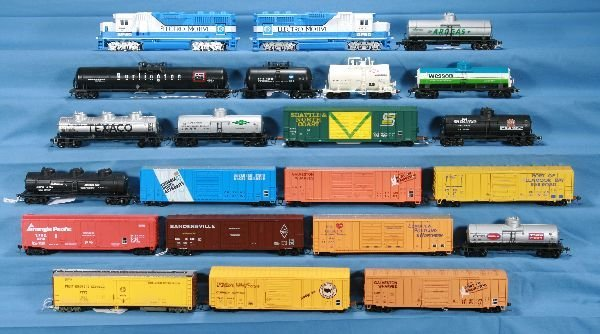 5: 22 Pc. HO Ga. EMD Diesel Freight Lot: