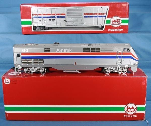 485: Boxed LGB 20490 & 44930 Amtrak Lot: