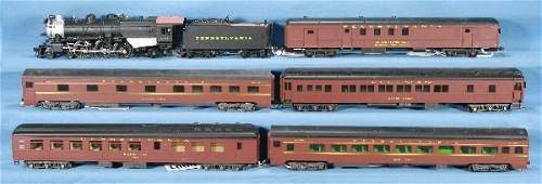 1: NETTE - 6 Pc. HO Ga. PRR Passenger Set: