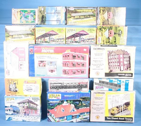 6: NETTE - 30 Boxed HO Ga. Structure Kits: