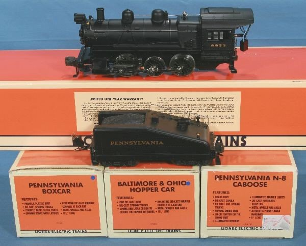 13: NETTE - LTI 18000 PRR 0-6-0 Switcher Set: