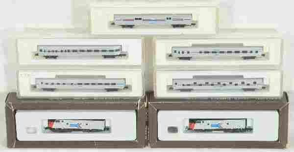 NETTE - MARKLIN Z Ga. Amtrak Set