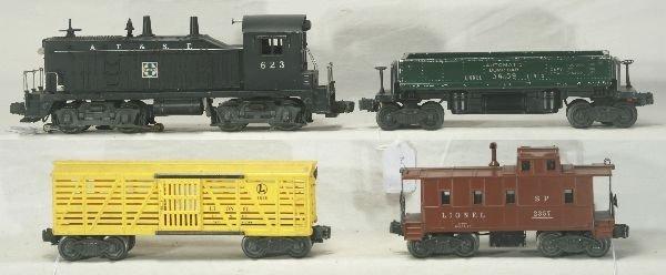 2: NETTE - 4 Pc. LIONEL 623 Diesel Freight Set: