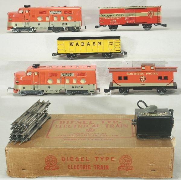 3: NETTE - Boxed MARX SP Diesel Set: