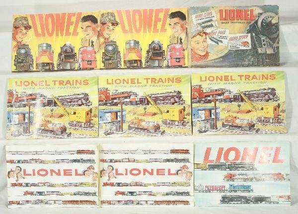 7: NETTE - 27 Original LIONEL Catalogs: