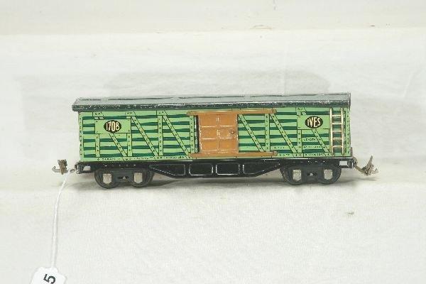 15: NETTE - IVES 1708 Cattle Car:
