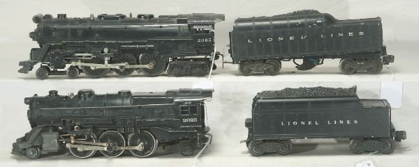 20: NETTE - LIONEL 2065 & 2025 Steam locos: