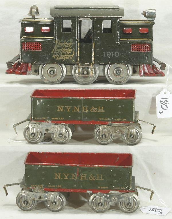 180: NETTE - Fantastic Early LIONEL 1910 Set: