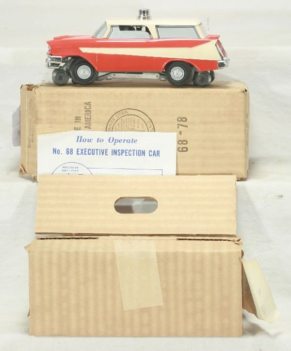 461: NETTE - Mint Boxed LIONEL 68 Inspection Car: