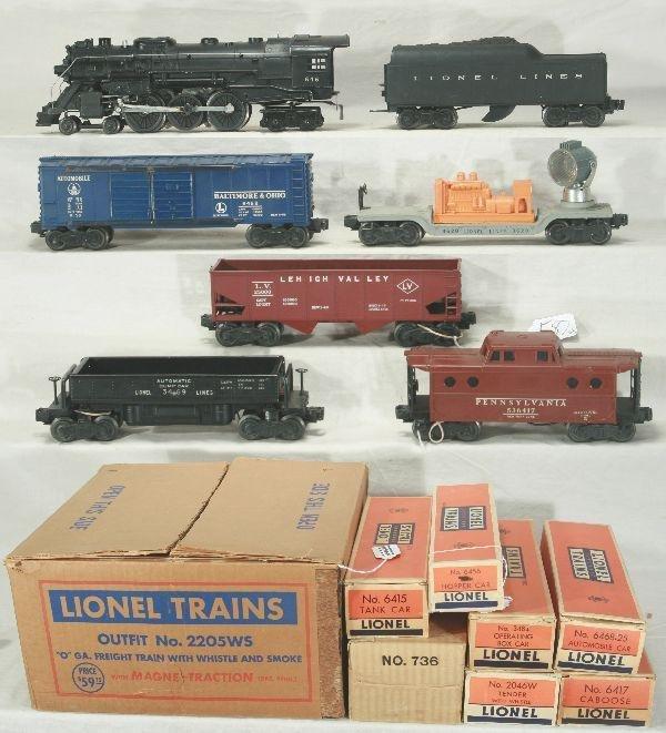 587: NETTE - Boxed LIONEL 646 Set 2221WS: