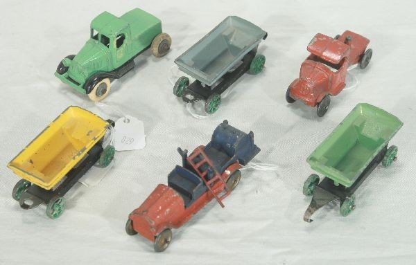 2: NETTE - 6 Pc. Early TOOTSIETOY Lot: