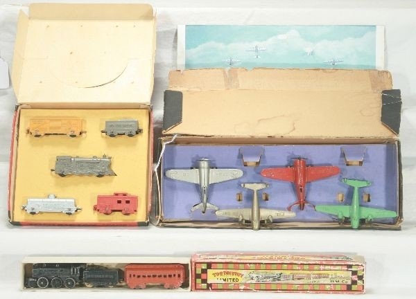 10: NETTE - 3 Boxed TOOTSIETOY Sets: